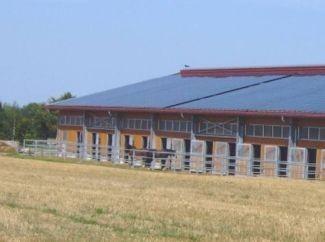 Ökostrom und Solar-Energie für die Landwirtschaft