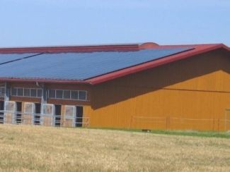 Auch die Landwirtschaft profitiert von günstigem Ökostrom und Solar-Energie